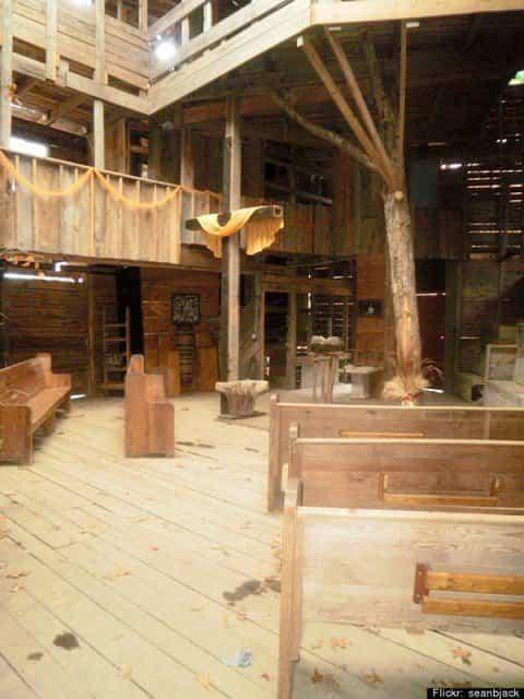 Casa del árbol de 3000 metros cuadrados