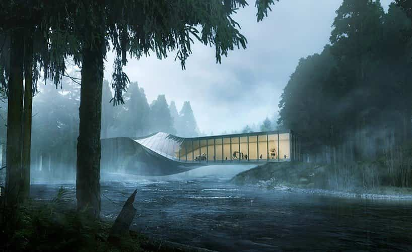 proyecto museo Kistefos noruega