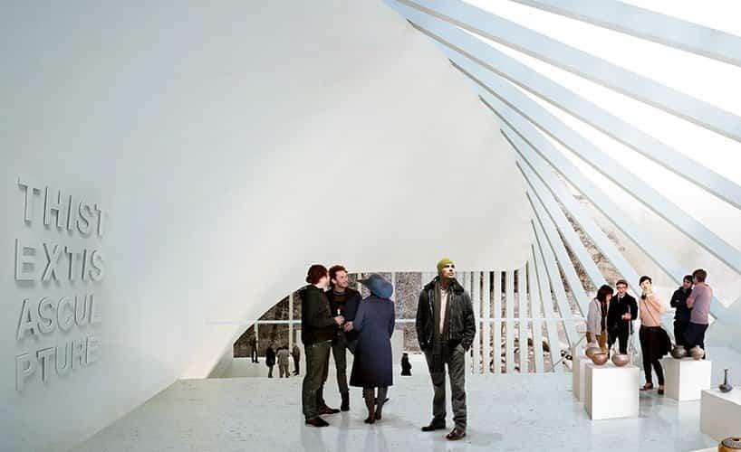 proyecto museo Kistefos noruega gigantesco tragaluz