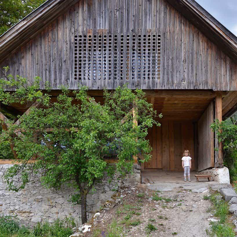 reforma edificios viejos - viejo granero
