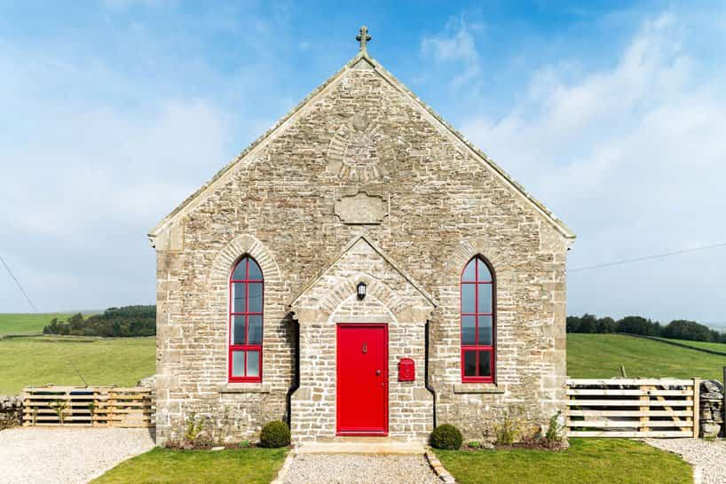 reforma edificios viejos - iglesia abandonada
