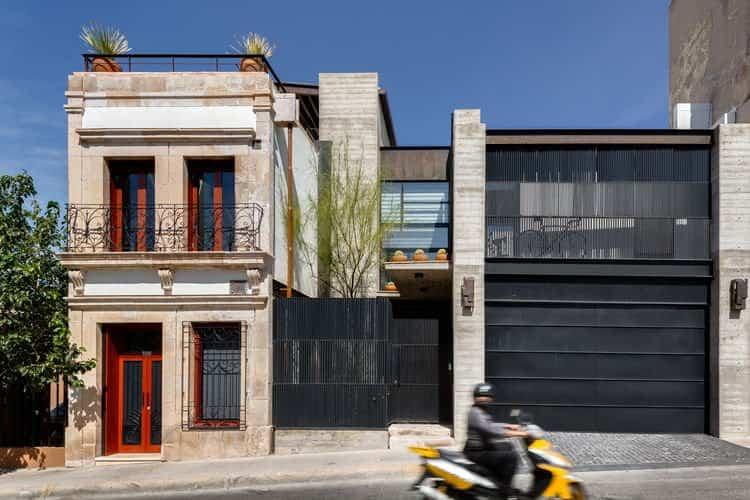 reforma edificios viejos - viejas oficina en México