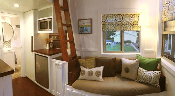 Casa pequeña - vista general de la casa
