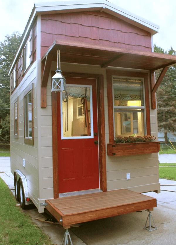 Casa pequeña terminada