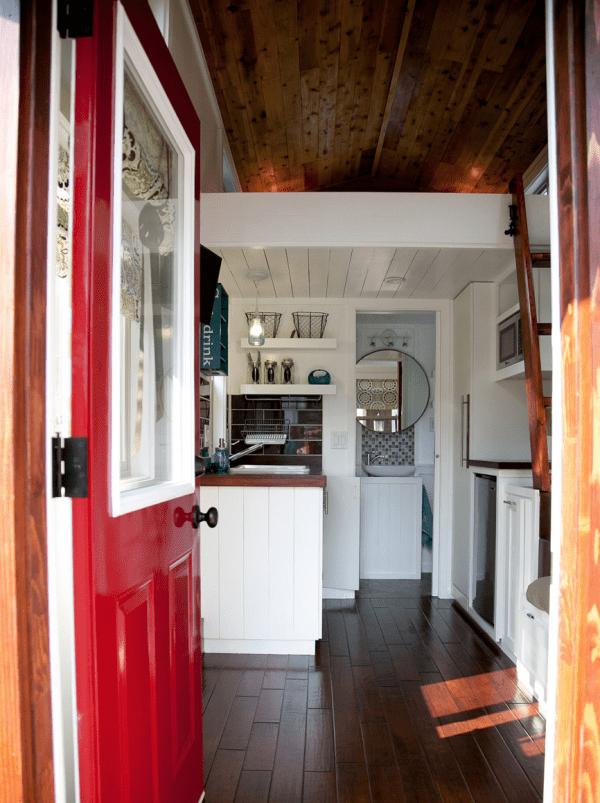 Casa pequeña - hall de entrada