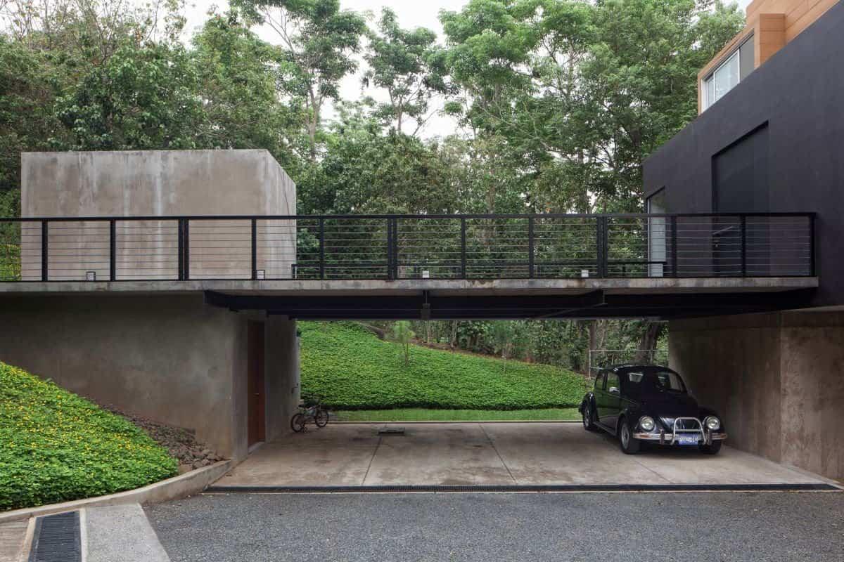 Residencia Mi3 - garaje de dos plantas