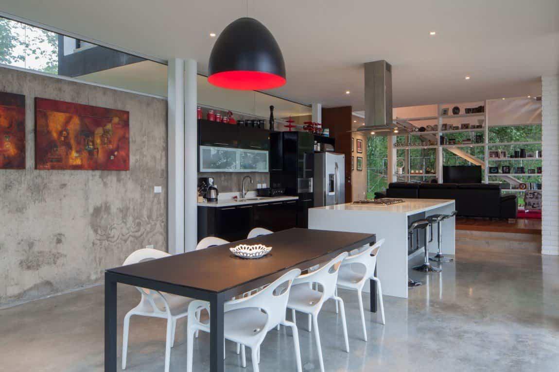 Residencia Mi3 - cocina