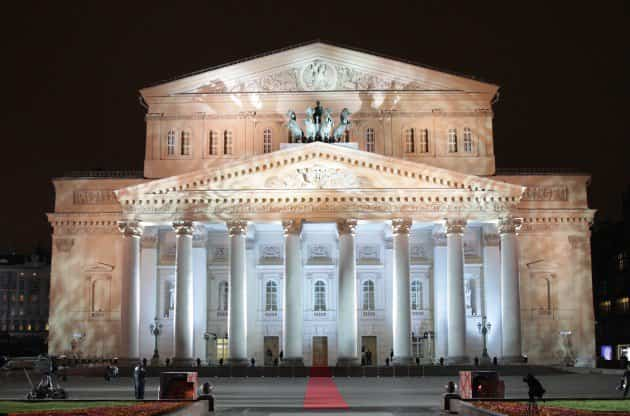 monumentos históricos - teatro bolshoi