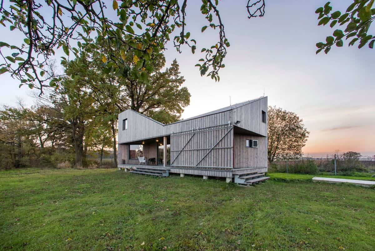 Casa de madera Zilvar