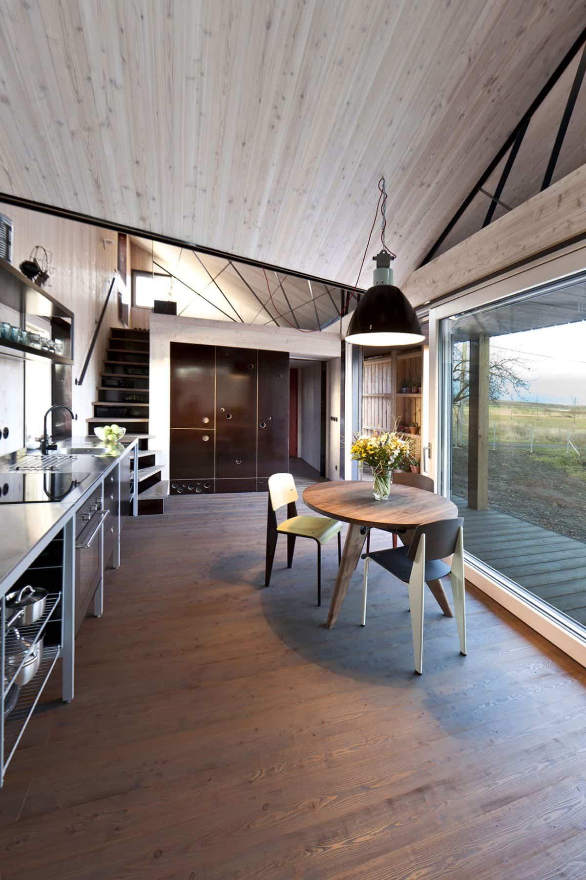 Casa de madera Zilvar vistas exteriores