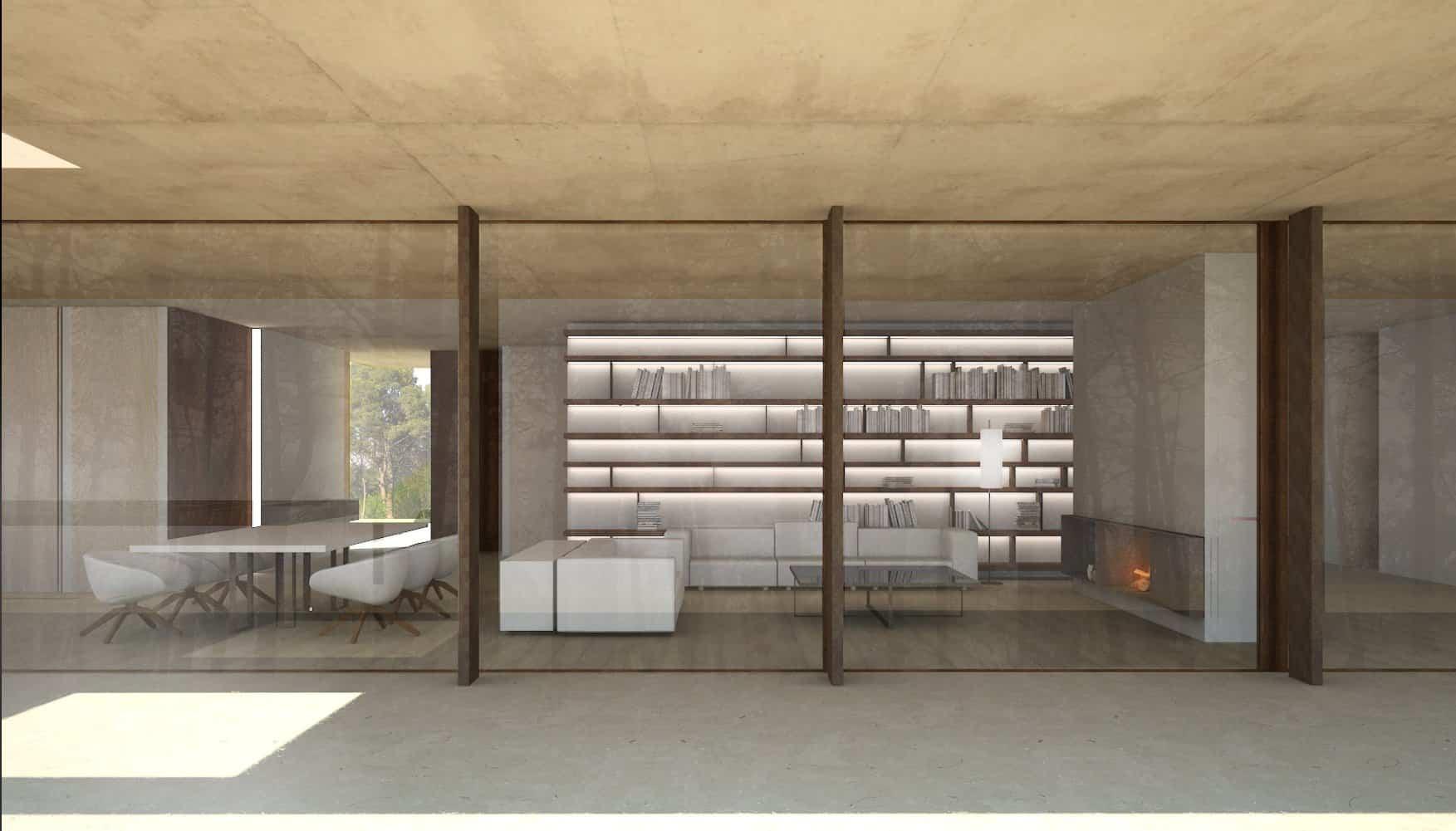Fluidez en los espacios - Casa en la Pinada 2015 Arquitecto Ramon Esteve 13