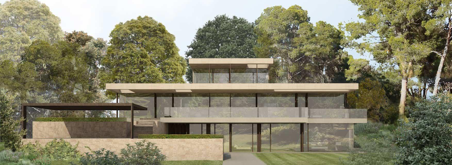 Jardín - Casa en la Pinada 2015 Arquitecto Ramon Esteve 17