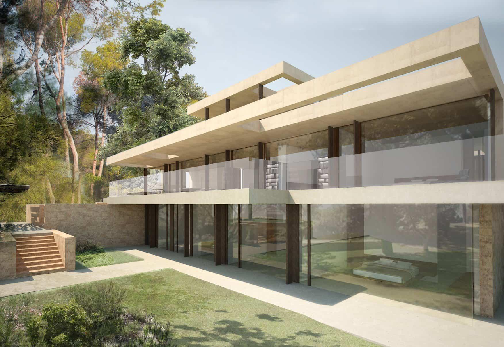 Naturaleza en la paleta de colores - Casa en la Pinada 2015 Arquitecto Ramon Esteve 18