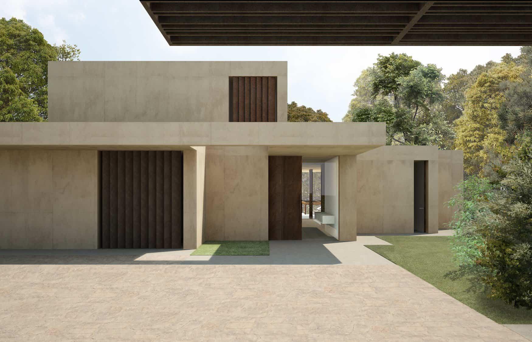 naturaleza en la paleta de colores casa en la pinada 2015 arquitecto ramon esteve 18 - Ramon Esteve Arquitecto