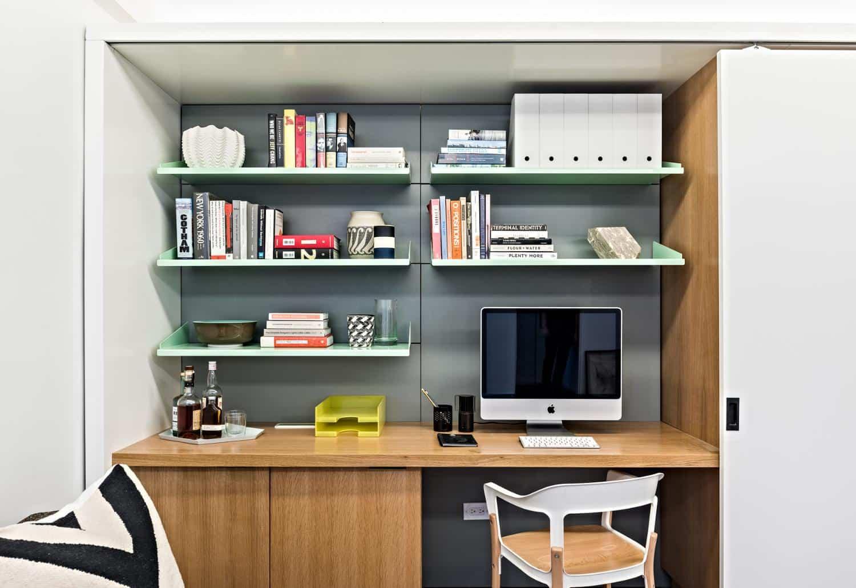 apartamento 5 en 1 zona de trabajo