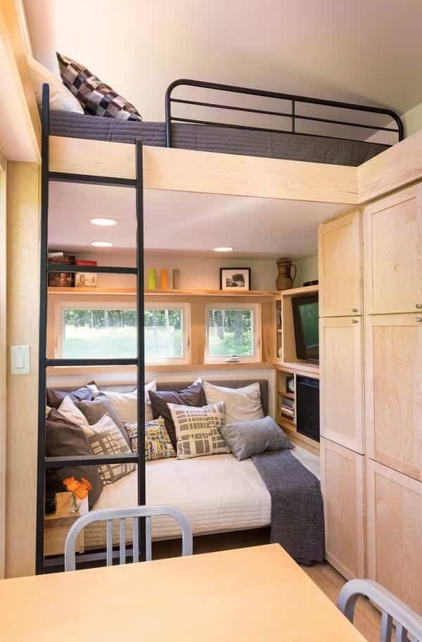 bonita casa sobre ruedas espacio para seis personas