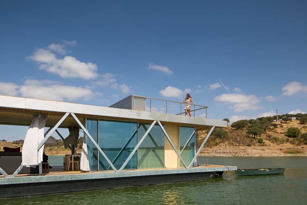 casa flotante go friday vistas del medio que lo rodea