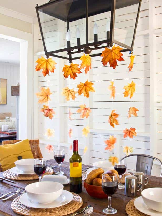 elementos naturales con los que decorar nuestro hogar - hojas secas