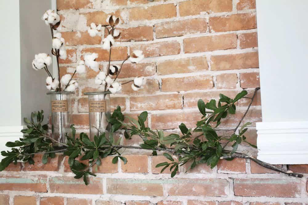 elementos naturales con los que decorar nuestro hogar algodn