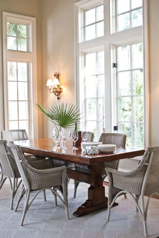 elementos naturales con los que decorar nuestro hogar - muebles de mimbre