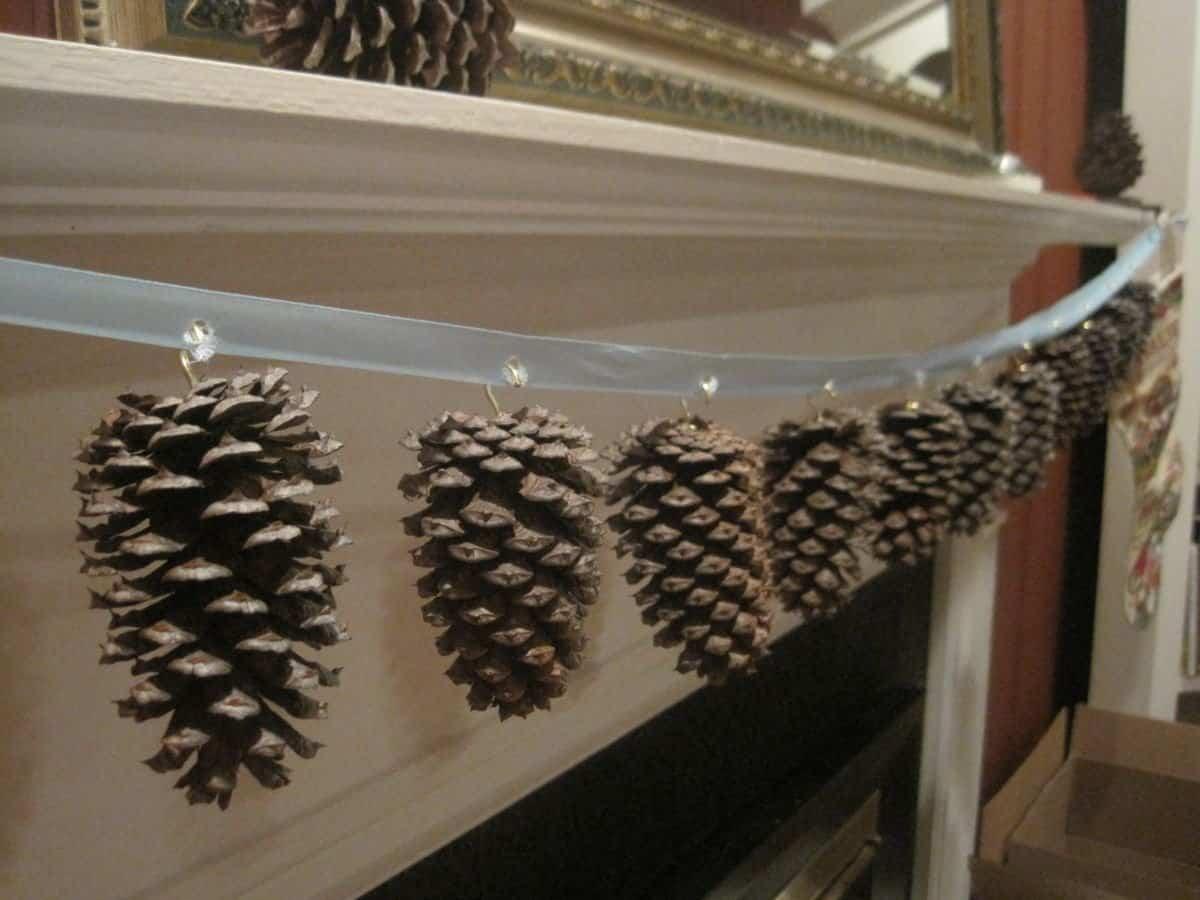 elementos naturales con los que decorar nuestro hogar - Piñas