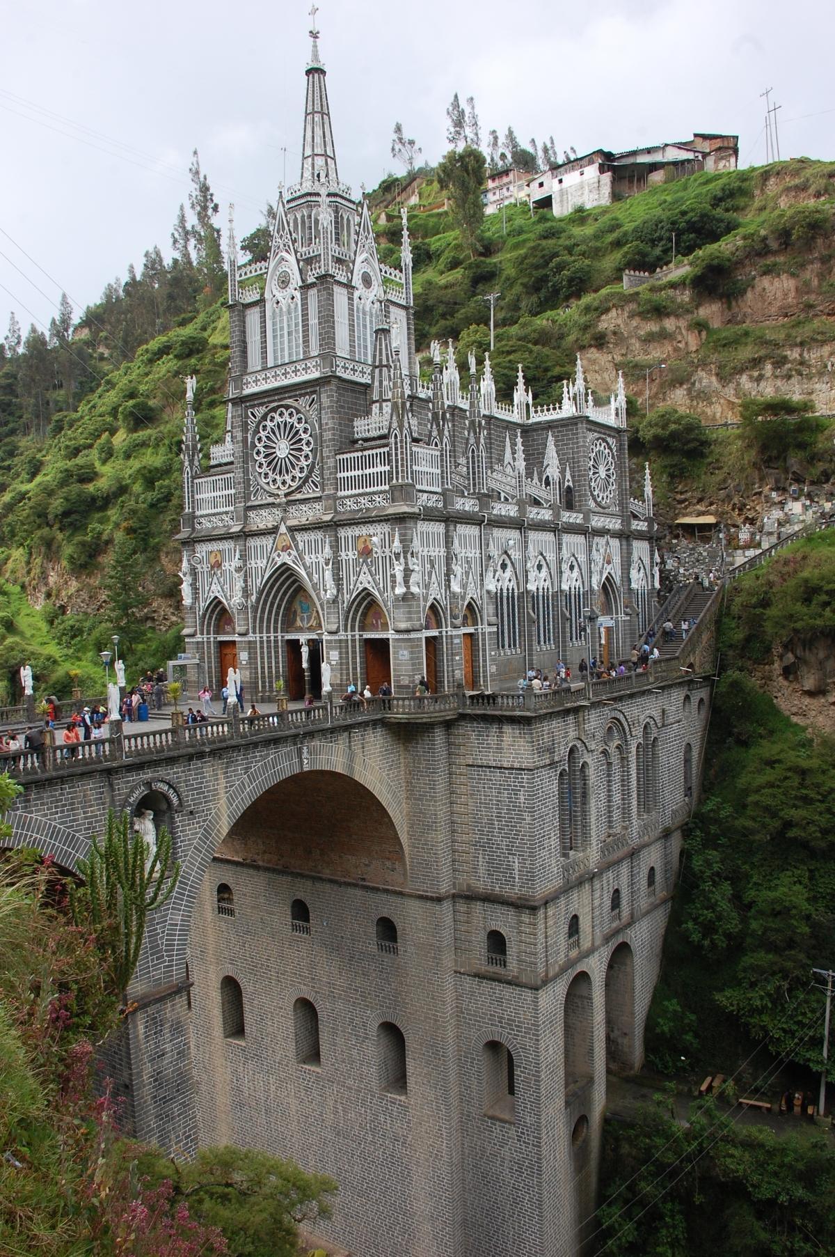 iglesias más impresionantes del mundo - Las Lajas