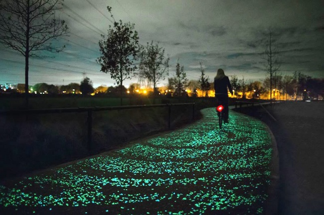 mobiliario urbano de alto diseño - sendero luminoso