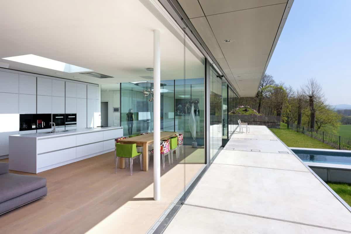 Proyecto Villa K en Alemania - intercambiador de temperatura