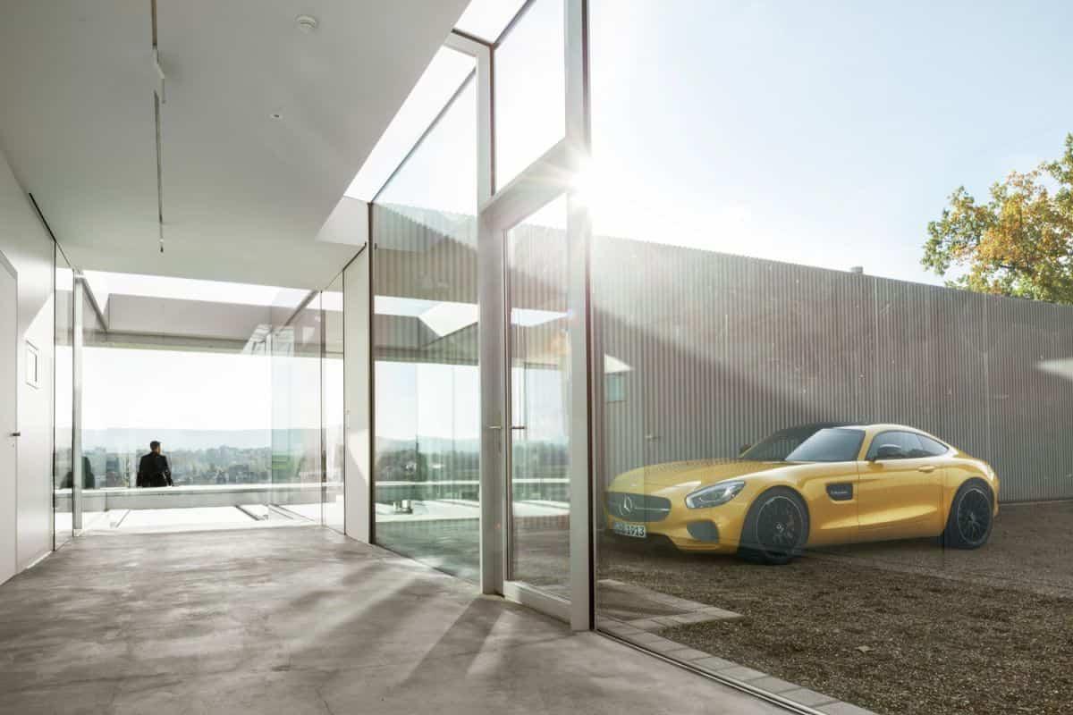 proyecto Villa K sostenible - garage para seis vehículos