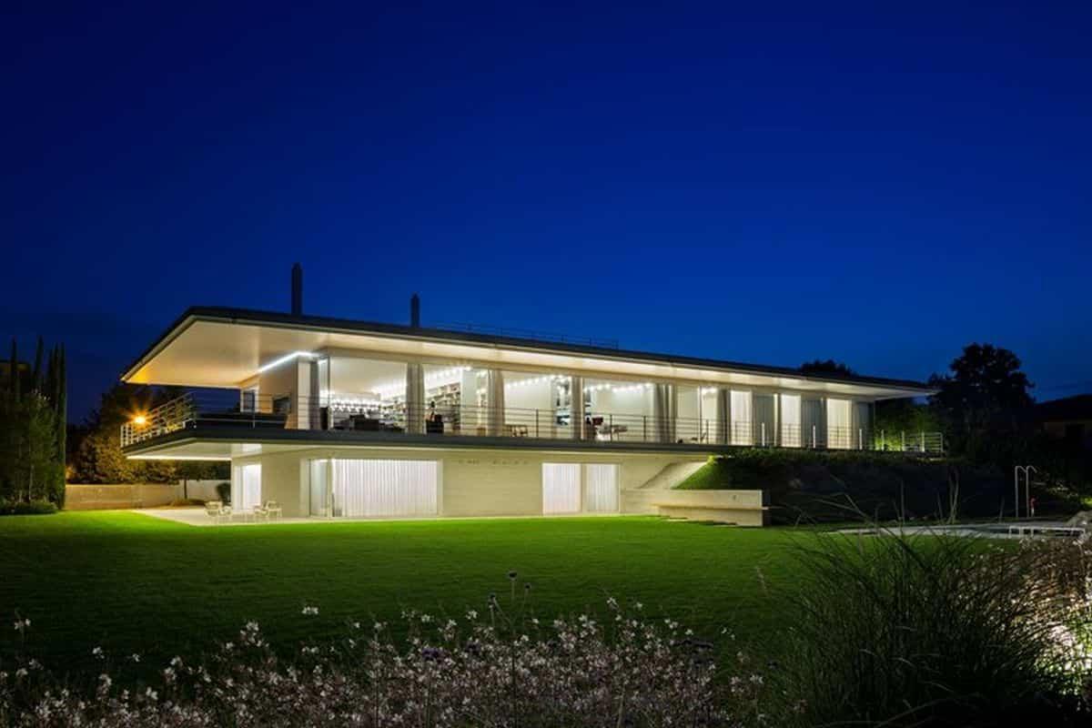 residencia moderna en Montebelluna Italia