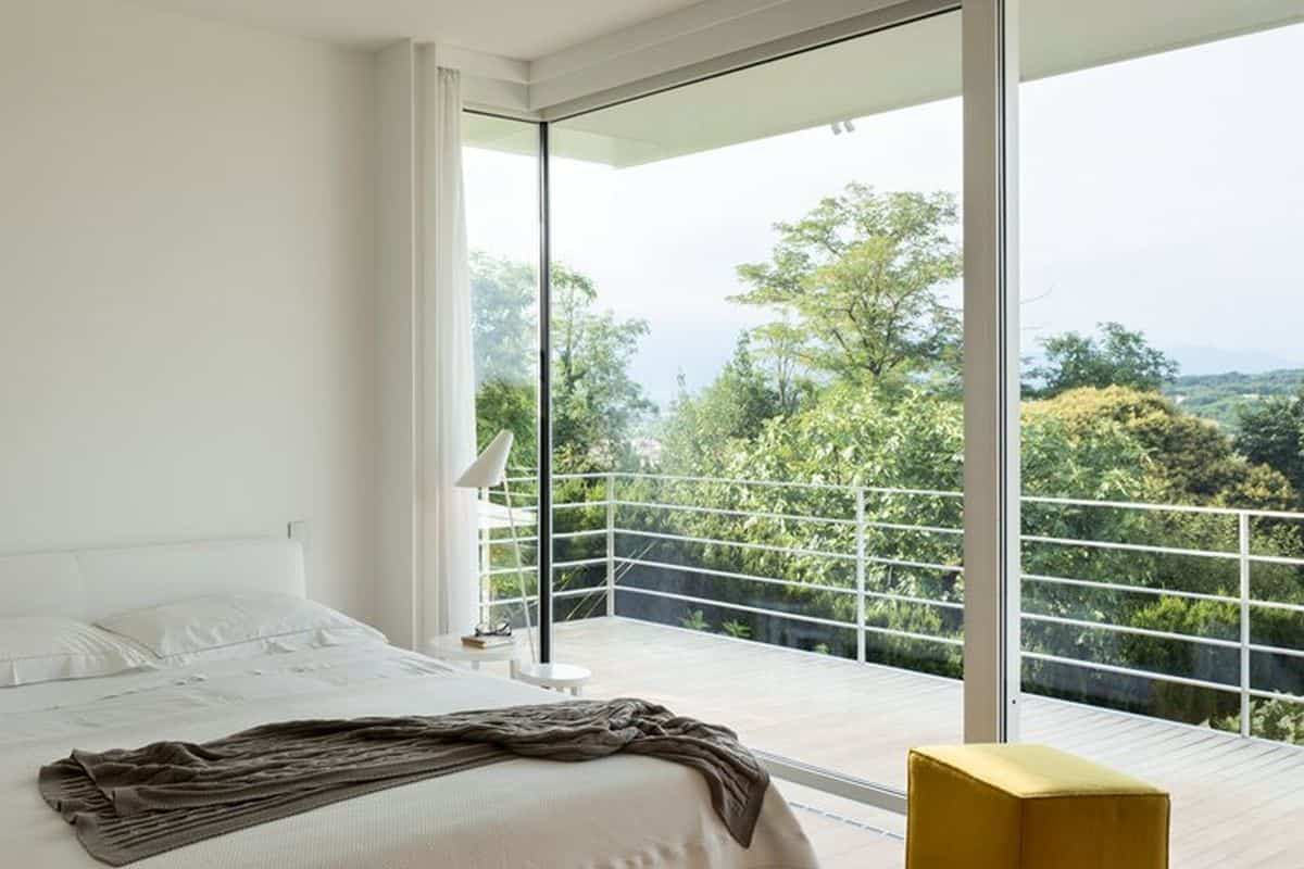 residencia moderna en Montebelluna - dormitorio principal