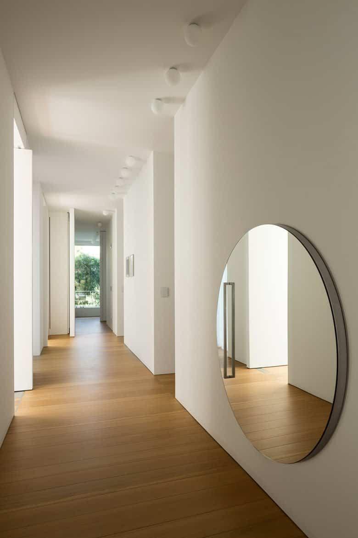 residencia moderna en Montebelluna - espacios abiertos