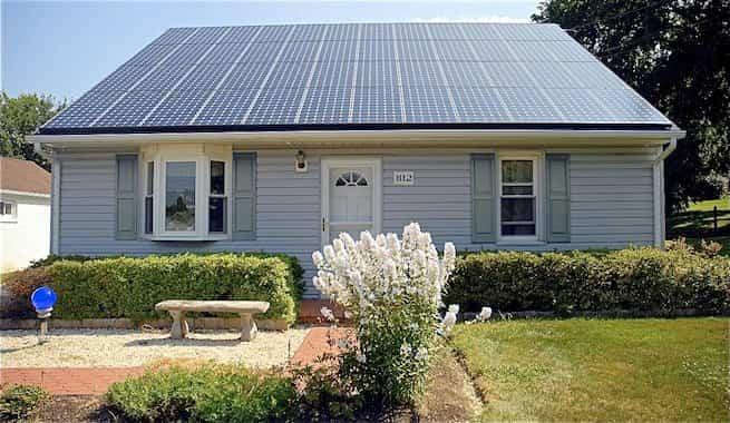 tejas solares - casa solar