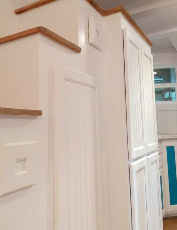 tiny house estilo victoriano con buen aprovechamiento del espacio