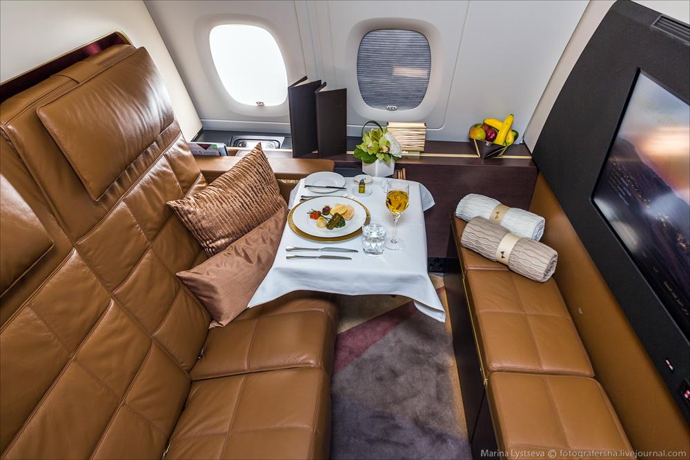 avión más lujoso del mundo - suit más cara