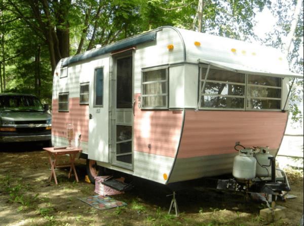 casa con ruedas vintage - segunda roulot