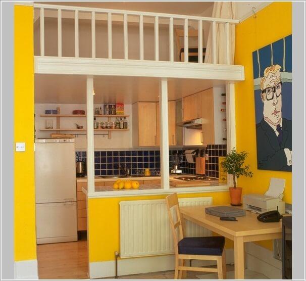 cocina parezca más grande - cocina abierta