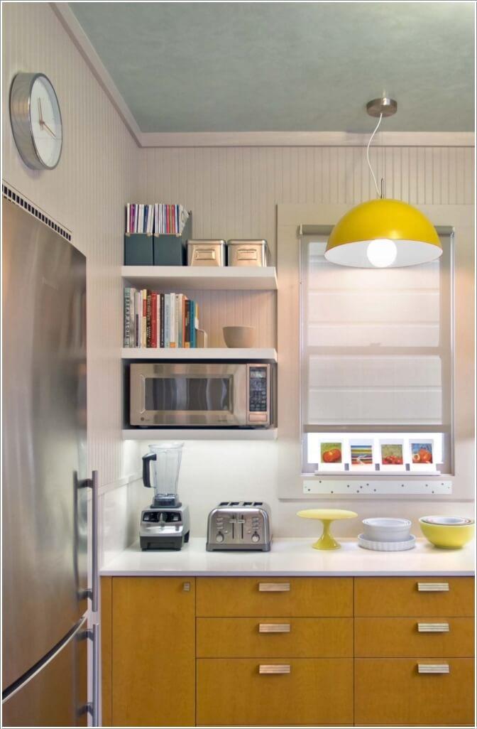 cocina parezca más grande - jugar con los colores
