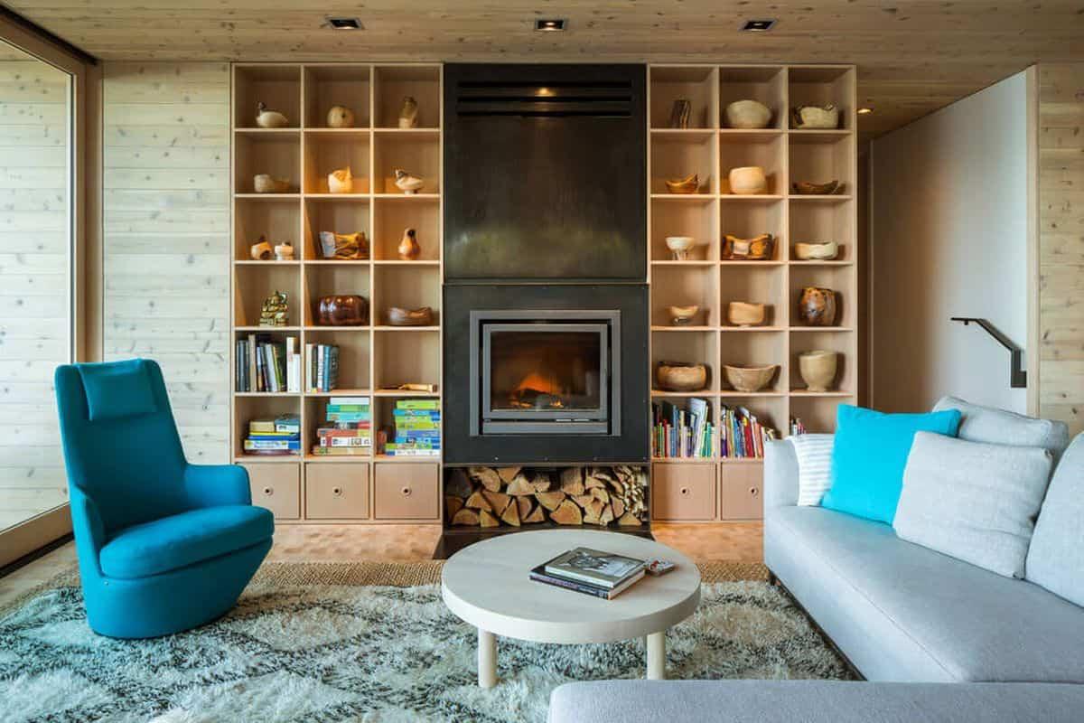casa de campo moderna Lone Madrone muy confortable