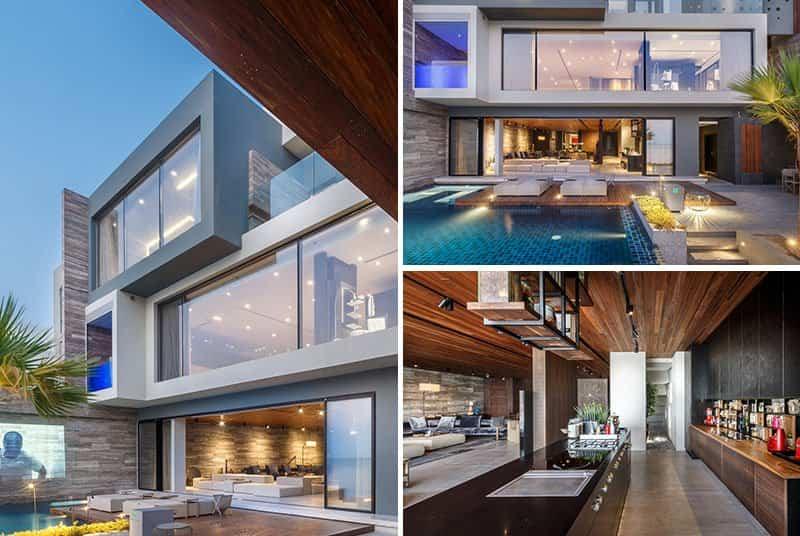 Dise o de una casa moderna con impresionantes vistas al mar for Miglior design di casa moderna