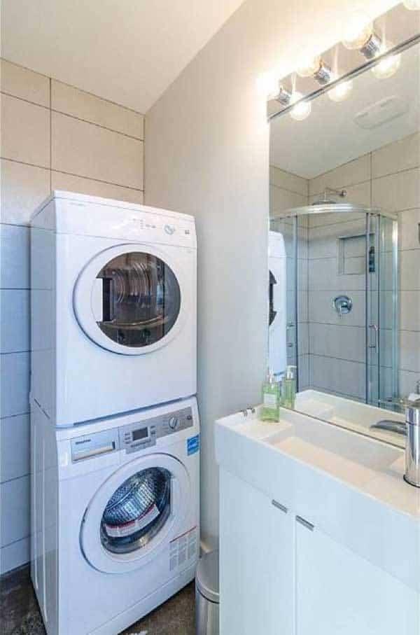 casa para invitados - lavadero