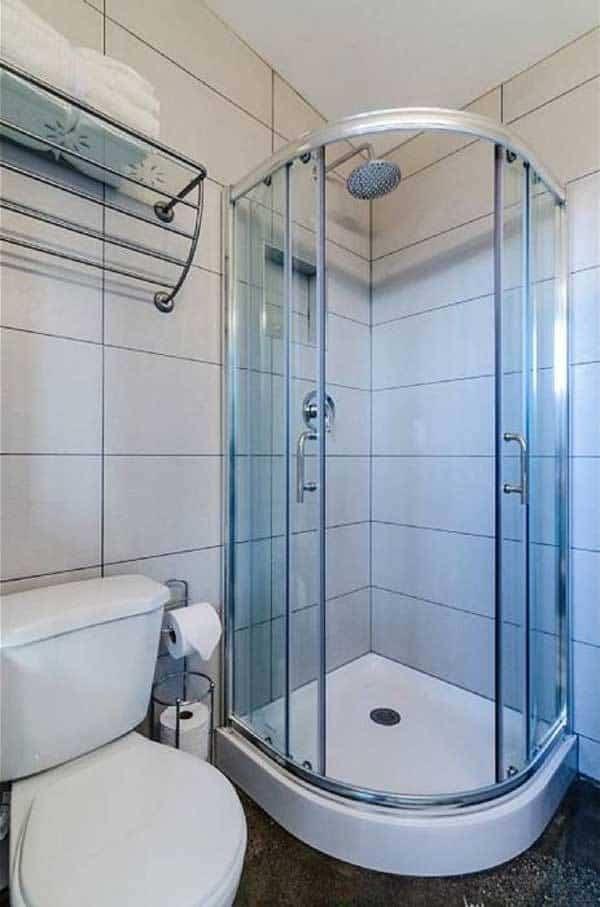 casa para invitados - baño