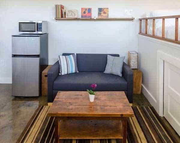 casa para invitados - sala de estar