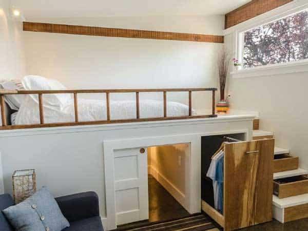 casa para invitados - armario empotrado
