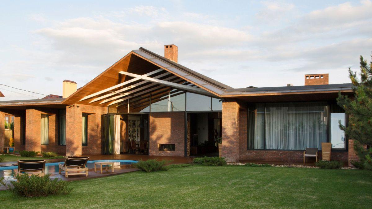 casa simétrica en rostov