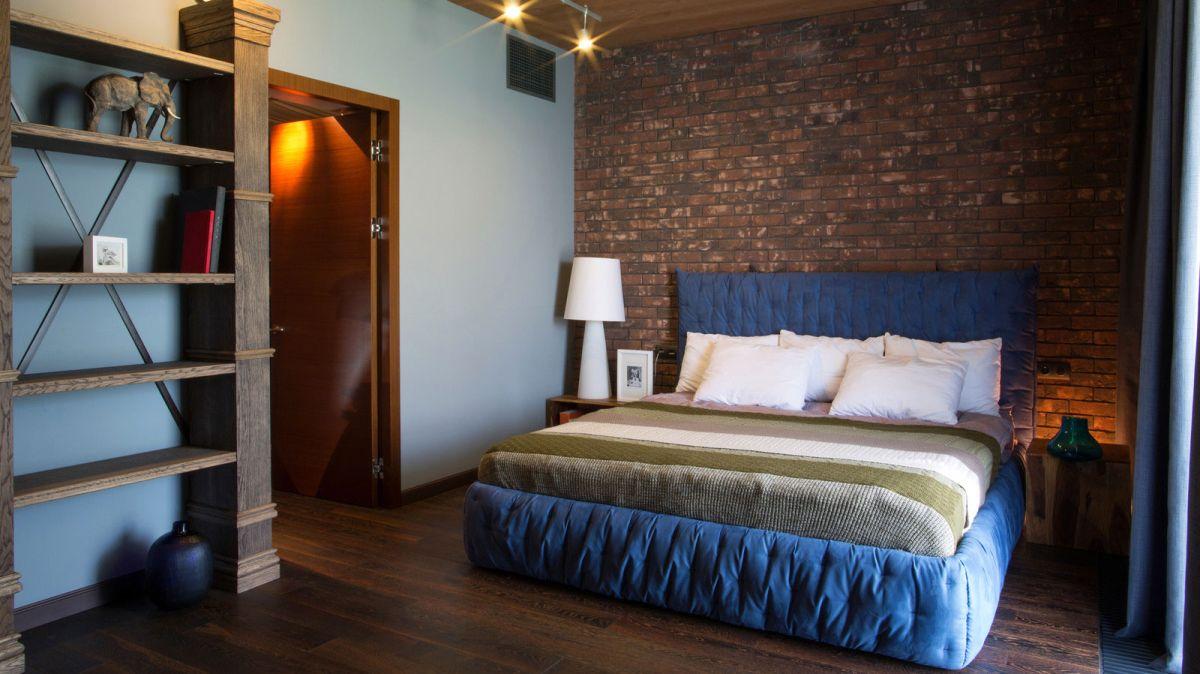 casa simétrica en rostov - dormitorio acogedor