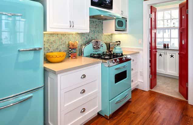 cocina retro 5 - electrodomesticos retros