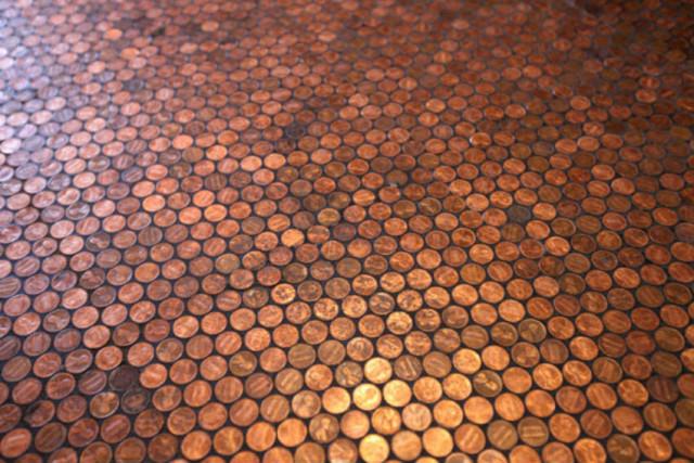 diseñar un suelo original 2 - monedas