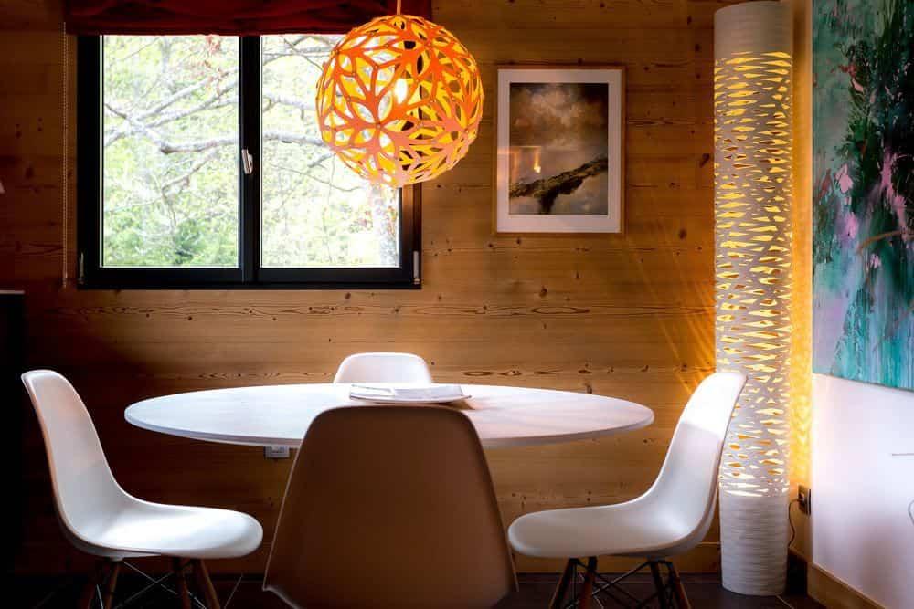 segunda vivienda chalet soleya - decoración moderna