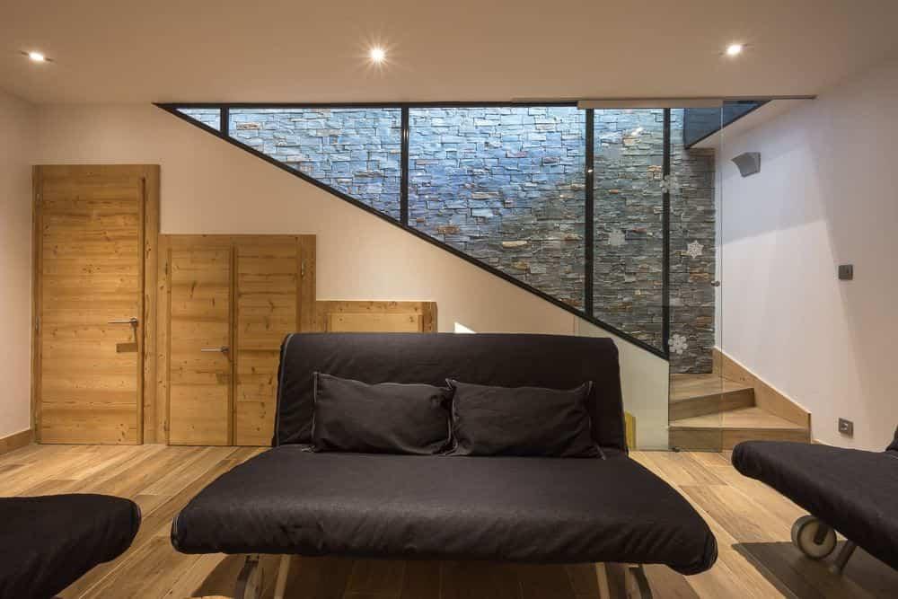 segunda vivienda chalet soleya - suelo de madera